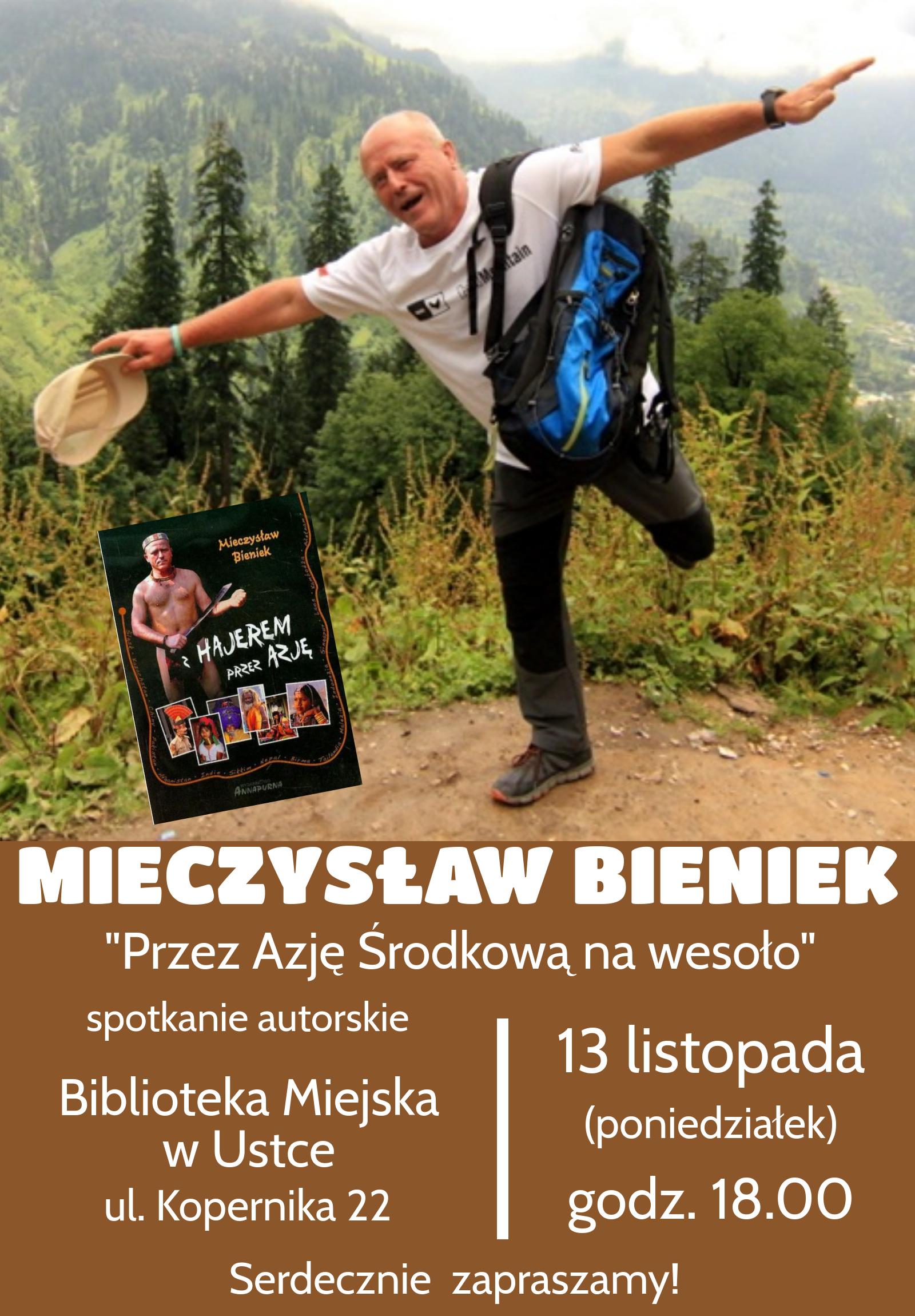 Mieczysław Bieniek - spotkanie autorskie